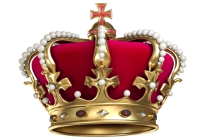 Who wears the crown?